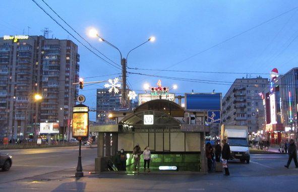 Новостройки у метро Ленинский проспект