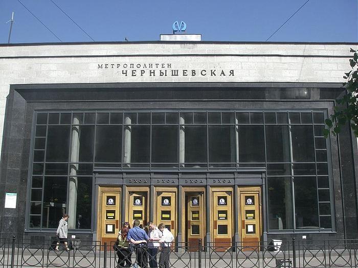 Новостройки у метро «Чернышевская»