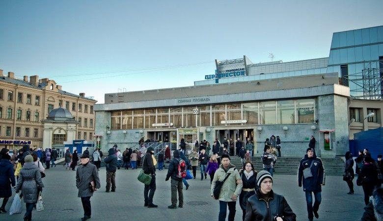 Новостройки у метро «Сенная площадь»