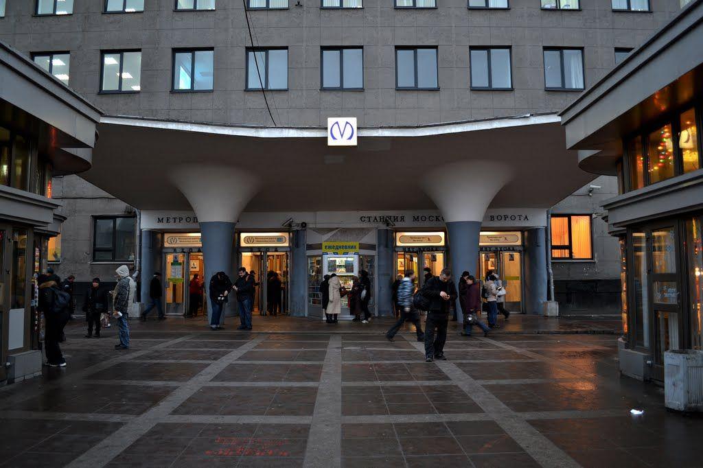 Новостройки вблизи станции метро Московские ворота