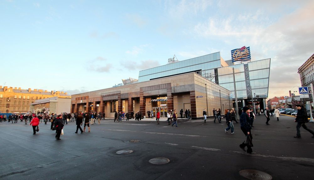 Новостройки у метро «Спасская»